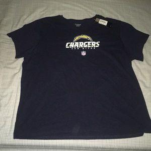 Women's San Diego Chargers XXXL Shirt NWT